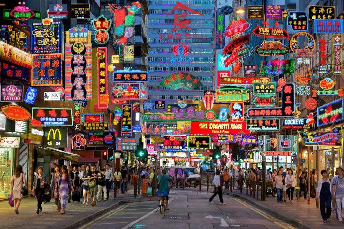 曾经香港的霓虹